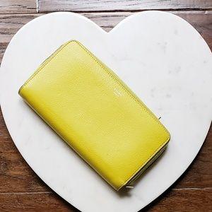 Celine Citron zipped around wallet